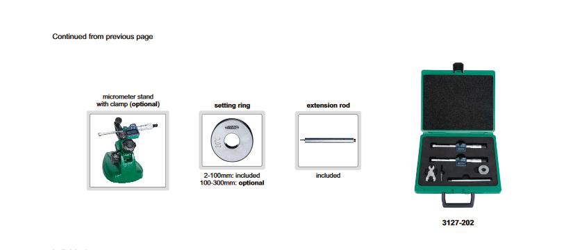 فروش میکرومتر سه فک دیجیتال اینسایزINSIZE
