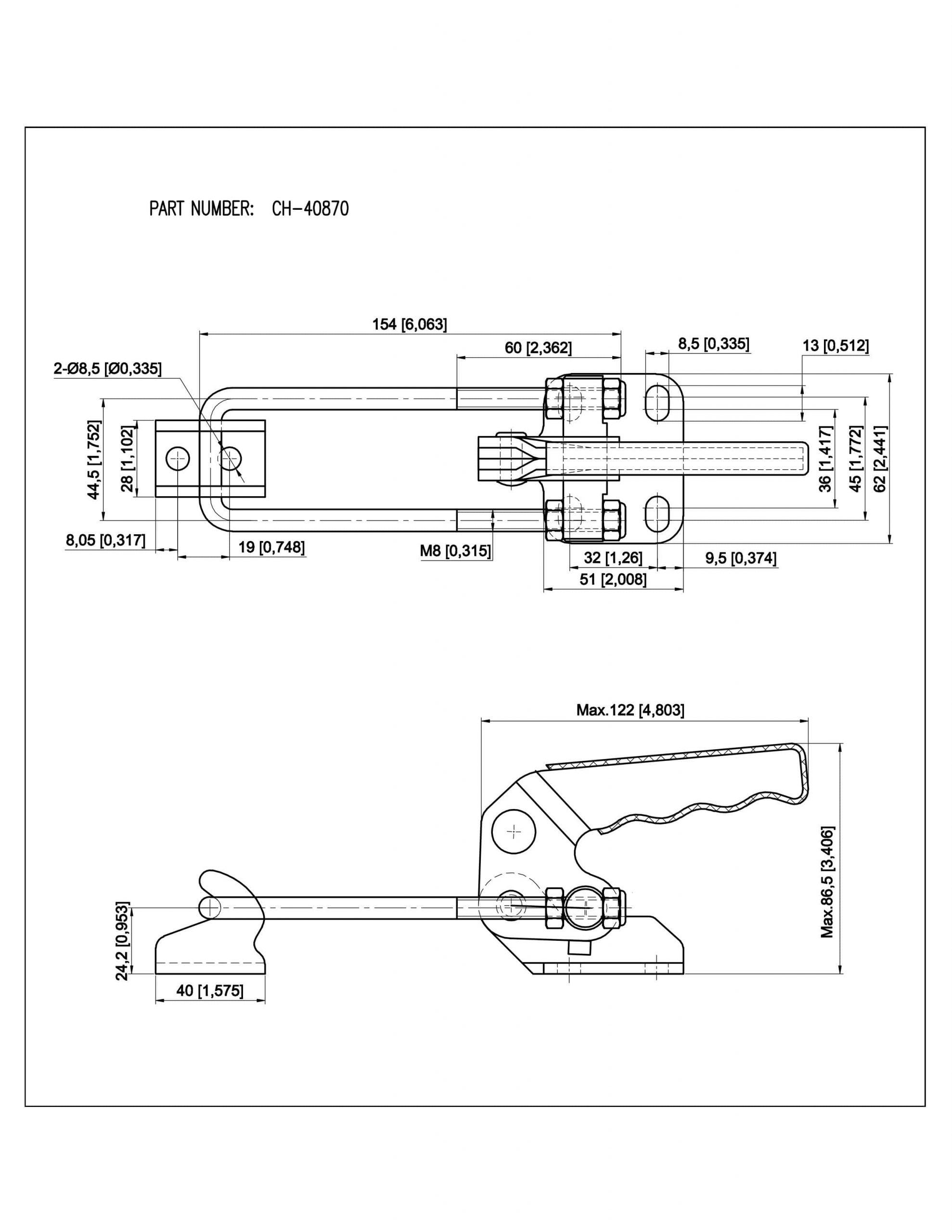 کاتالوگ کلمپ کششی CH-40870